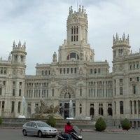 Photo taken at Palace of Communication by Calixto G. on 3/23/2012
