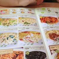 Photo taken at サイゼリヤ 石岡店 by コバヤシ ケ. on 8/7/2012