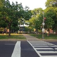 Photo taken at Logan Circle by Phil R. on 4/15/2012