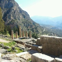 Photo taken at Temple of Apollo by S P. on 2/20/2012