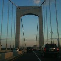 Photo taken at Throgs Neck Bridge by Will B. on 8/13/2012