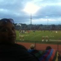 Photo taken at Garry Berry Stadium by John R. on 5/11/2012