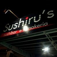 Photo taken at Sushiru's by Daniel S. on 1/11/2012