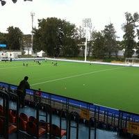 Photo taken at Estadio Panamericano de Hockey by gerardo p. on 10/10/2011