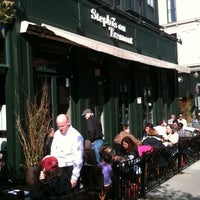 Photo taken at Stephi's on Tremont by Mike V. on 10/15/2011
