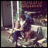 Photo taken at Manic Coffee by Yuli S. on 11/15/2011