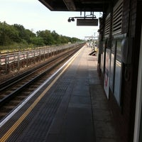 Photo taken at Perivale London Underground Station by Rob O. on 7/31/2011