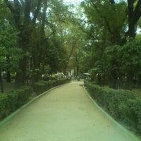 Photo taken at Parque de la China by Antonio Z. on 11/6/2011