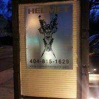 Photo taken at Helmet Hairworx by Justin D. on 12/29/2011