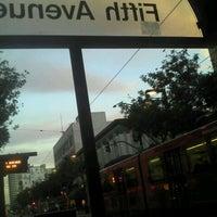 Photo taken at 5th Ave Trolley Station by El Hijo De La Diabla on 11/30/2011