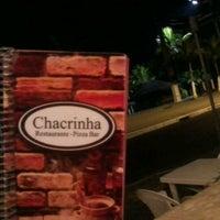 Photo taken at Chacrinha Restaurante & Pizza Bar by Georgiane B. on 8/8/2012