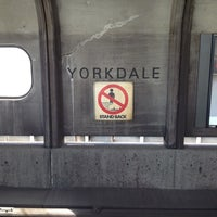 Photo taken at Yorkdale Subway Station by Louis F. on 4/18/2012