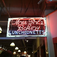 Photo taken at Three Girls Bakery by Nicole S. on 7/22/2012