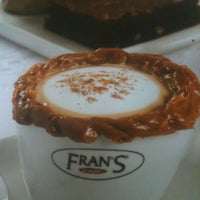 Photo taken at Fran's Café by Caio A. on 12/4/2011