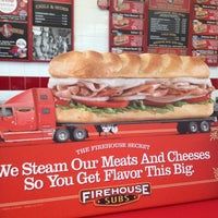 Photo taken at Firehouse Subs by Kristelle on 7/31/2012