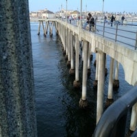 Photo taken at Newport Pier by 研究所大佐 m. on 3/11/2012