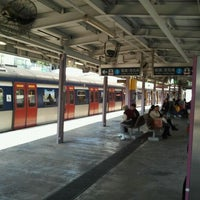 Photo taken at MTR Sha Tin Station by Allan K. on 12/2/2011