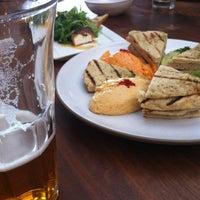 Photo taken at Sens Restaurant by Nobuko O. on 8/16/2012