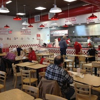 Photo taken at Five Guys by Charlie P. on 1/21/2012