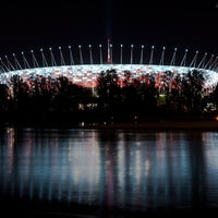 Photo taken at PGE Narodowy by Piotr G. on 6/28/2012