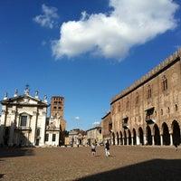 Photo taken at Piazza Sordello by Daniele Z. on 7/23/2011
