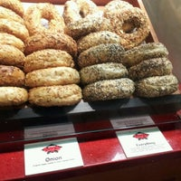 Photo taken at Siegel's Bagels by JerBaum.com on 4/17/2012