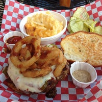 Photo taken at Daily Grind Burgers by Ryan B. on 4/22/2012