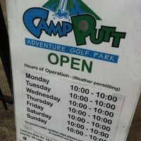 Photo taken at Camp Putt by Seen E. on 5/31/2011