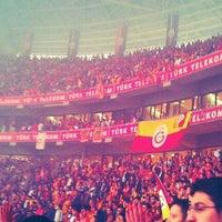 Photo taken at Odeabank Tribünü by Naci A. on 5/13/2012