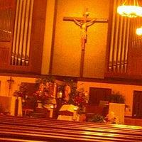 Photo taken at St. Matthew The Apostle  Church by Christine on 12/25/2011