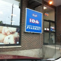 Photo taken at Lee's Dundas Pharmacy by Alicia G. on 6/7/2012