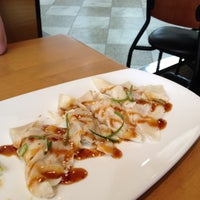 Photo taken at California Pizza Kitchen at San Mateo by Meg on 8/15/2012
