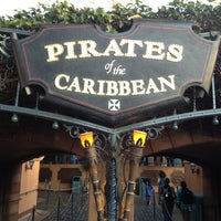 Photo taken at Pirates of the Caribbean by Jason B. on 5/14/2012