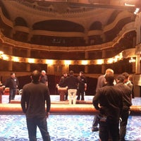 Photo taken at Teatro Municipal de Santiago by Felipe C. on 6/28/2012