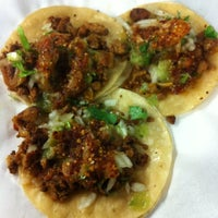 Photo taken at Chabelita Tacos by Clint H. on 2/25/2012