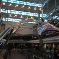 Photo taken at Concourse B by Sandy M. on 4/16/2012