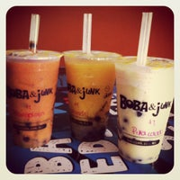Photo taken at Boba & Junk by Rafa S. on 7/14/2012