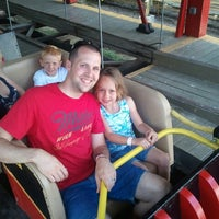 Photo taken at Rollo Coaster  @idlewildpark by Aaron C. on 6/24/2012