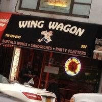 Photo taken at Wing Wagon by Joelina C. on 7/13/2012