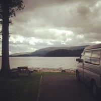 Photo taken at Milarrochy Bay Camping and Caravanning Club Site by Mr Joe L. on 6/1/2012
