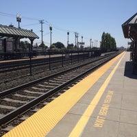 Photo taken at San Carlos Caltrain Station by Lisa H. on 7/30/2012