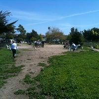 Photo taken at Alameda Dog Park by Nick L. on 4/15/2012