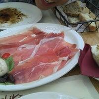 Photo taken at Obicà Mozzarella Bar Pizza e Cucina by Debra W. on 6/9/2012