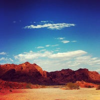 Photo taken at Valley of Fire State Park by Leandro A. on 7/21/2012