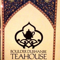 Photo taken at Dushanbe Teahouse by Jennifer T. on 2/20/2012
