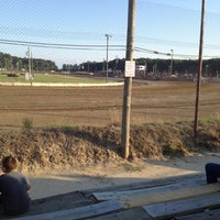 Photo taken at Delaware International Speedway by Ashley H. on 6/2/2012