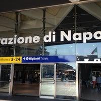 Photo taken at Napoli Centrale Railway Station (INP) by Radka B. on 8/3/2012