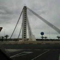 Photo taken at Puente Del Bimilenario by Gold C. on 4/14/2012