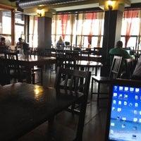Photo taken at Café on the Ave. by Sulgi K. on 7/4/2012