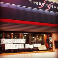 Photo taken at 35 Thai Restaurant by Michael M. on 2/9/2012